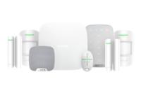 Ajax Hubkit LUXE incl. Hub, 2 detectoren, 2 magneetcontacten, afstandsbediening, keypad & sirene